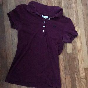 A Aeropostale collard shirt